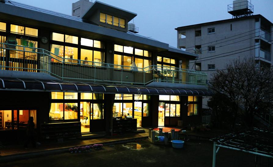 豊川保育園の園舎の様子