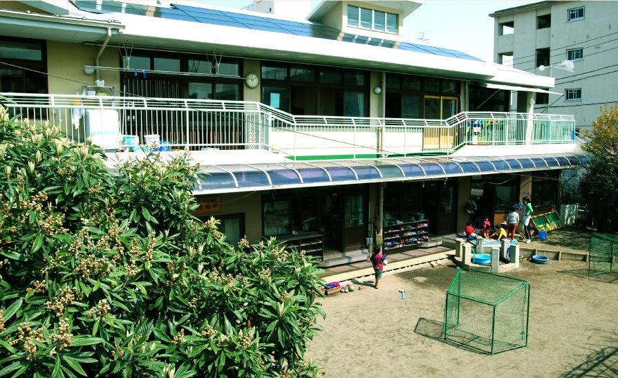 北区豊川保育園の外観