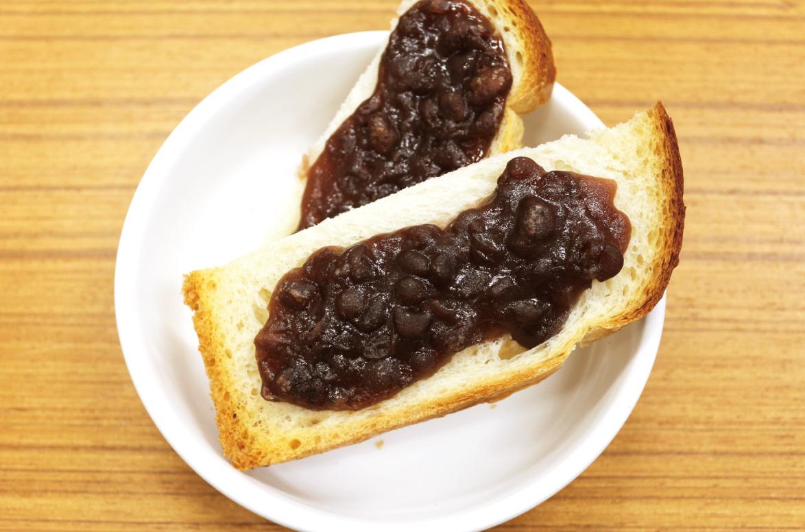 保育園レシピのあんバタートースト